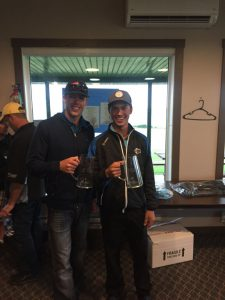 Friday Tourney winners Taylor Baldwin & Bryson Odgers