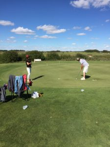 Golf - putting