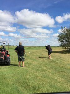 Golf - drive