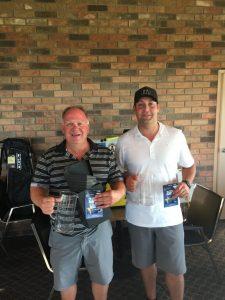 Saturday Tourney winners Leonard Brock & Shane Pollock