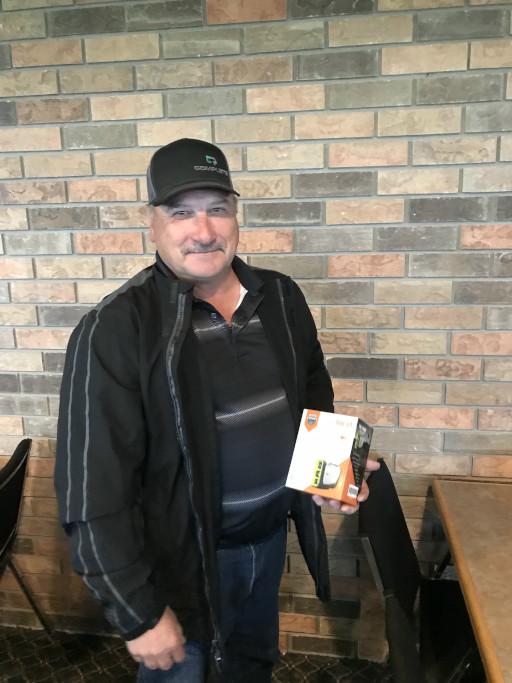 Hole 9 Winner - Ron Perkins