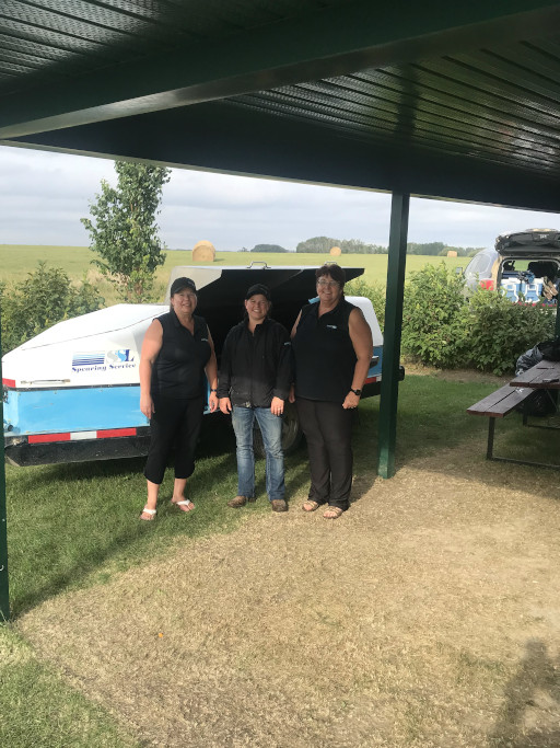 Spearing Service BBQ trailer